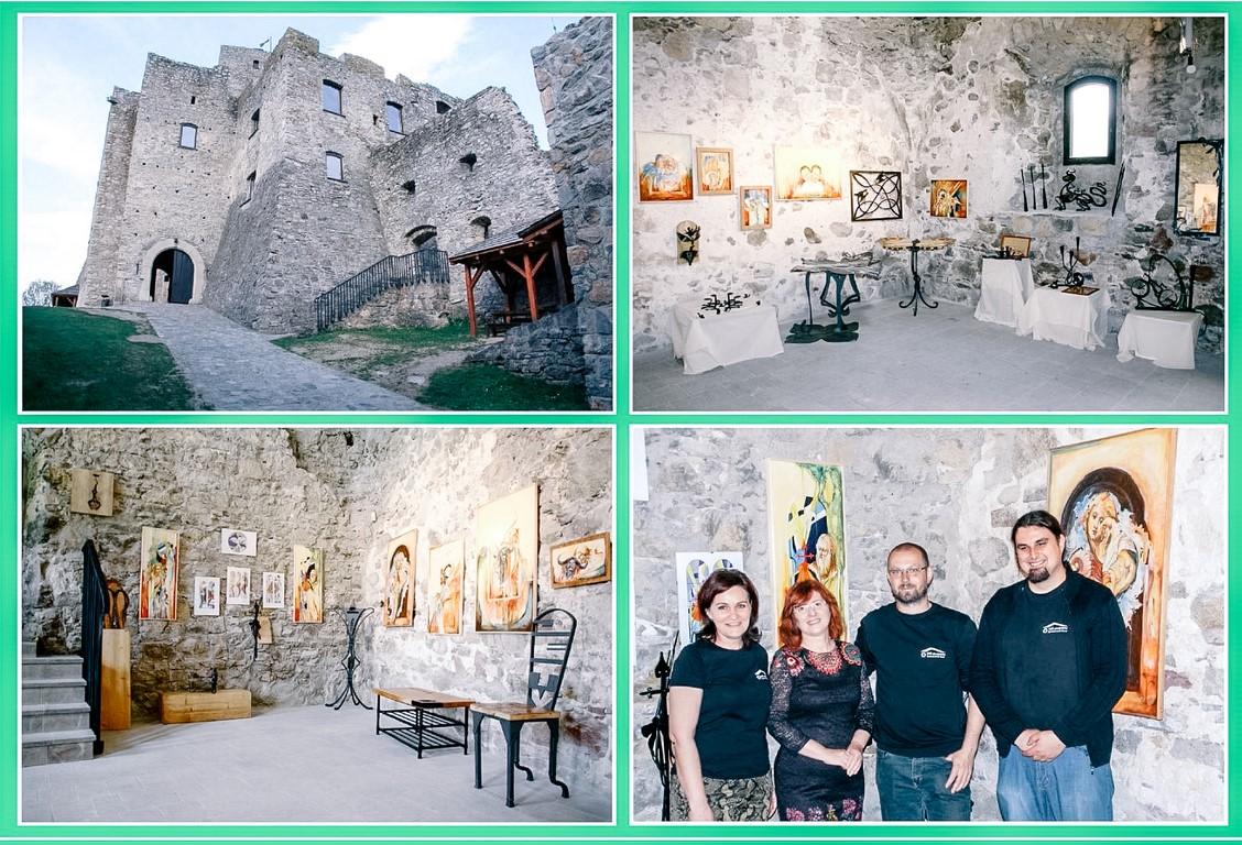 6. Pretentácia kováči Výstava na hrade Strečno, SOŠs Kysucké Nové Mesto 6