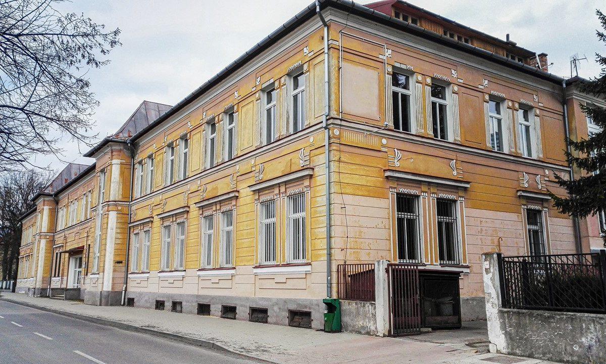 Budova školy Pavilón A