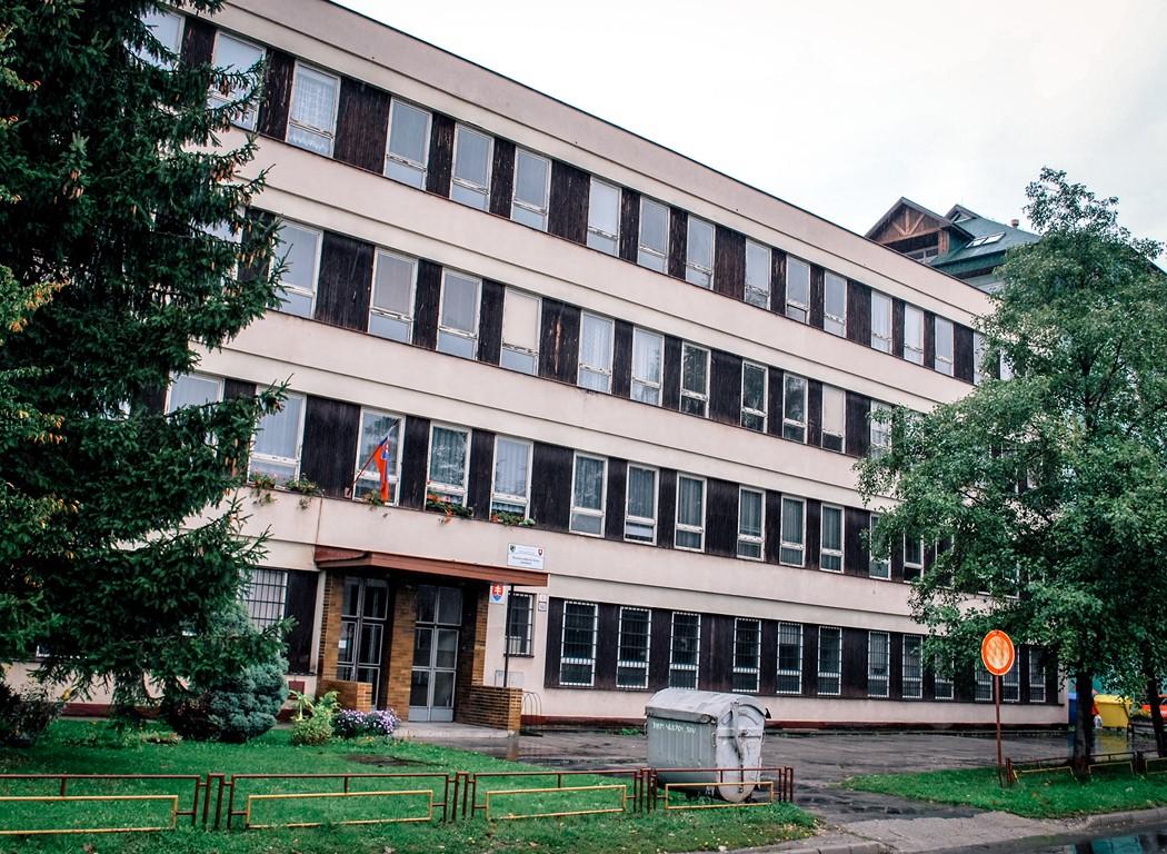 Budova školy Pavilón B