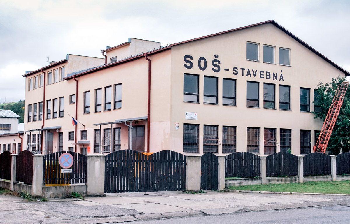 Budova školy Pavilón C - dielne OV