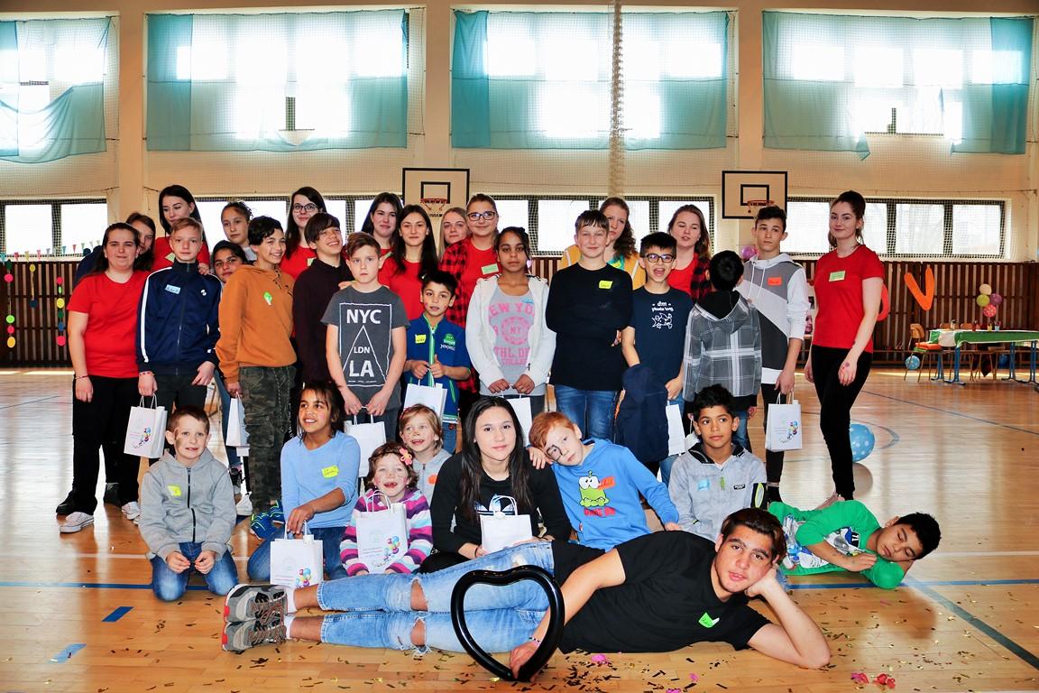 Deti z Centrum pre deti a rodiny Bytča, pracovisko Horný Kelčov na našej škole