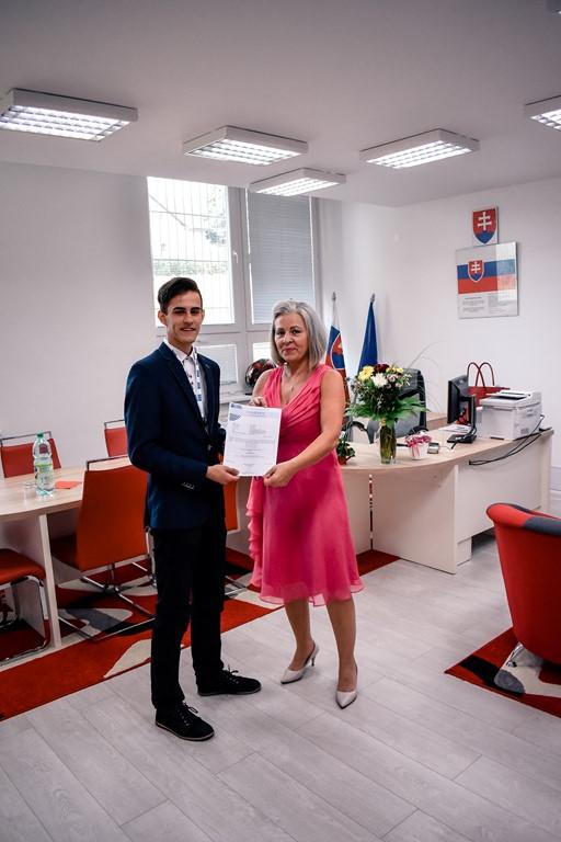 Ocenenie Petra Balalu
