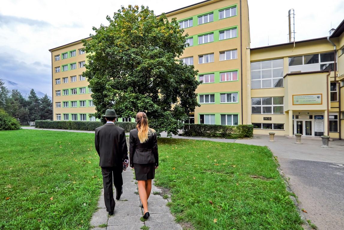 SOŠLaD Budova školského internátu