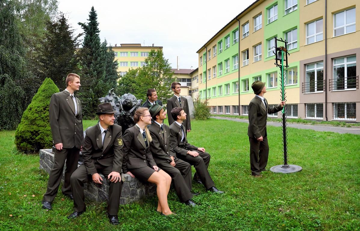 SOŠLaD Budova školy