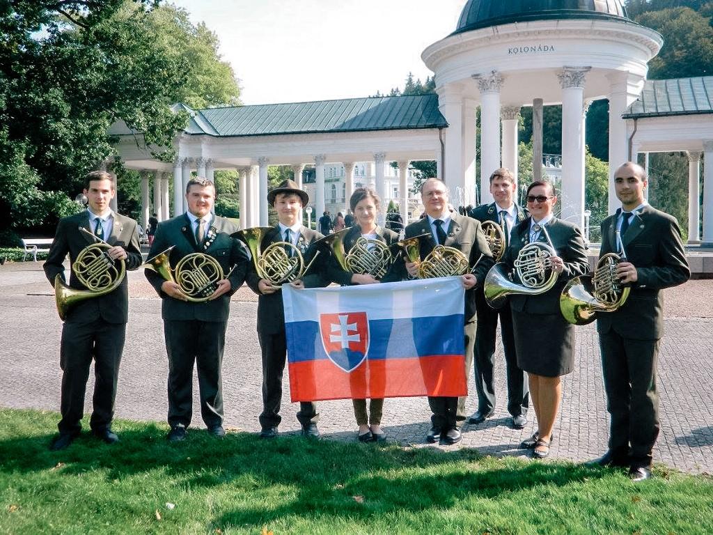 SOŠLaD účasť trubačov školy na Majstrovstvách Európy