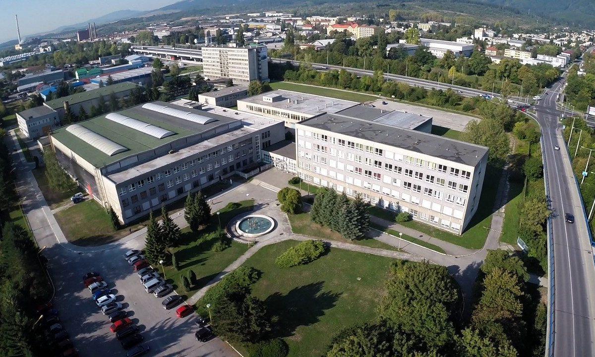 Spojená škola 1 - Budova školy