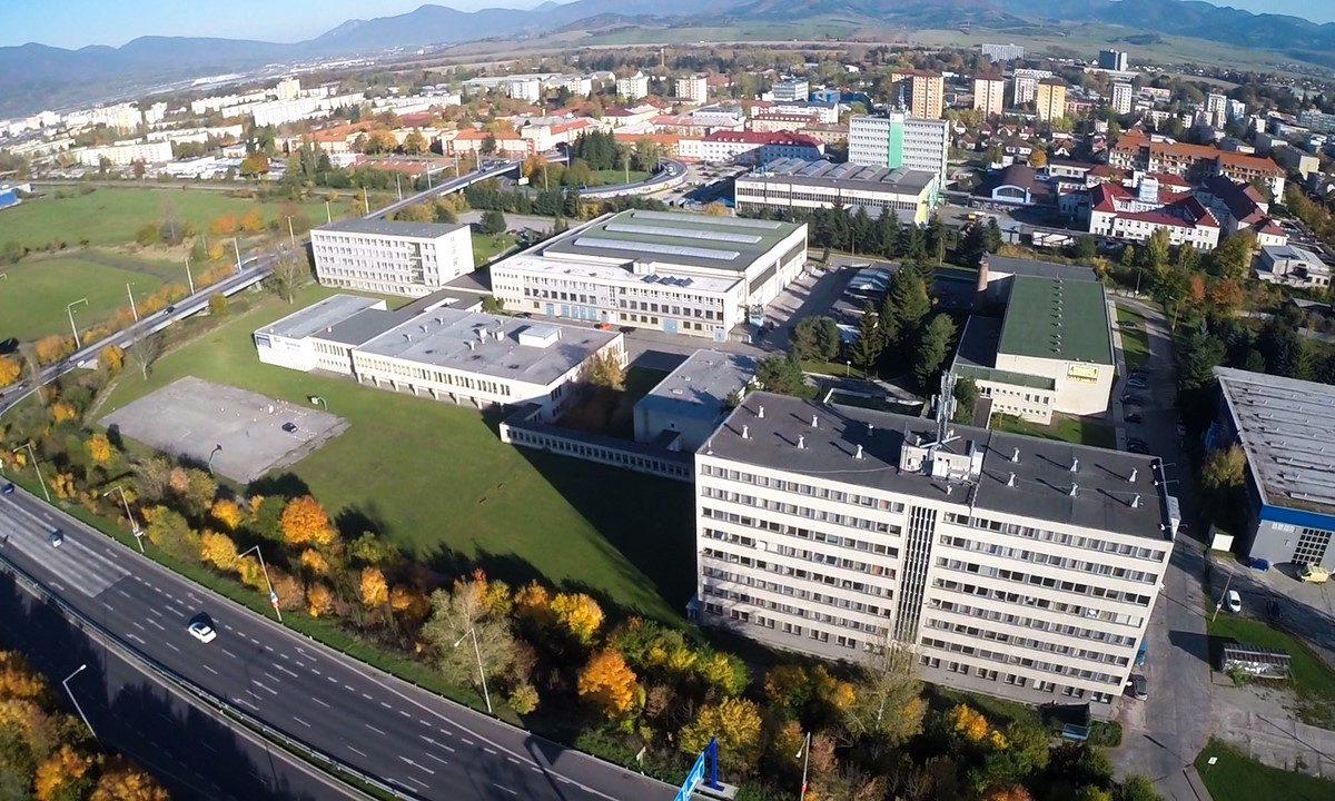 Spojená škola 2 - Budova školy