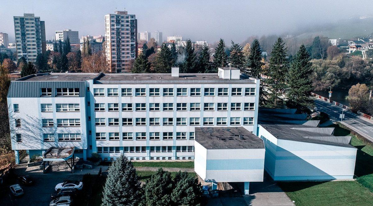 budova OA dron